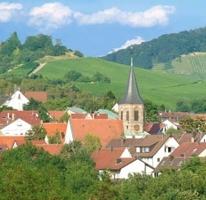 Neustadt mit Kirche