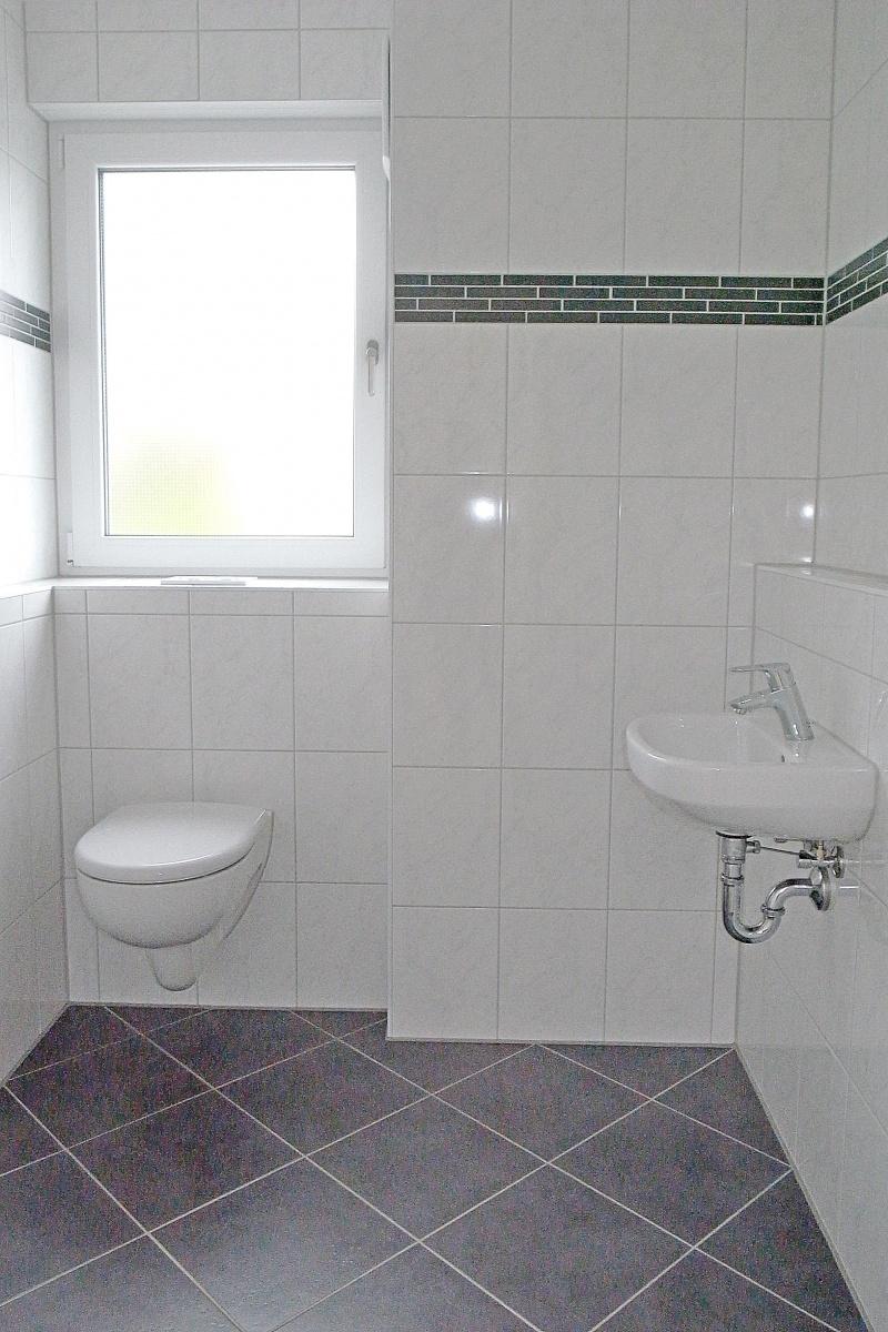 Gäste-WC mit Tageslicht
