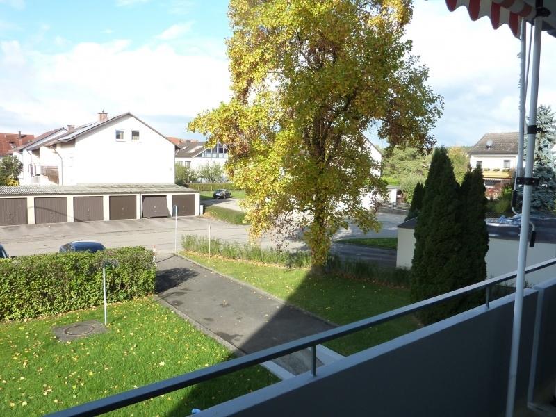 Blick vom Balkon n.Westen