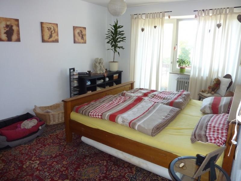 Elternschlafzimmer mit Balkon