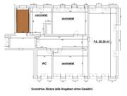 Grundriss 58m²