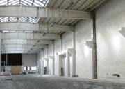 Halle während der Sanierung 1