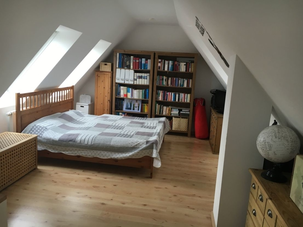Maisonette-Schlafzimmer