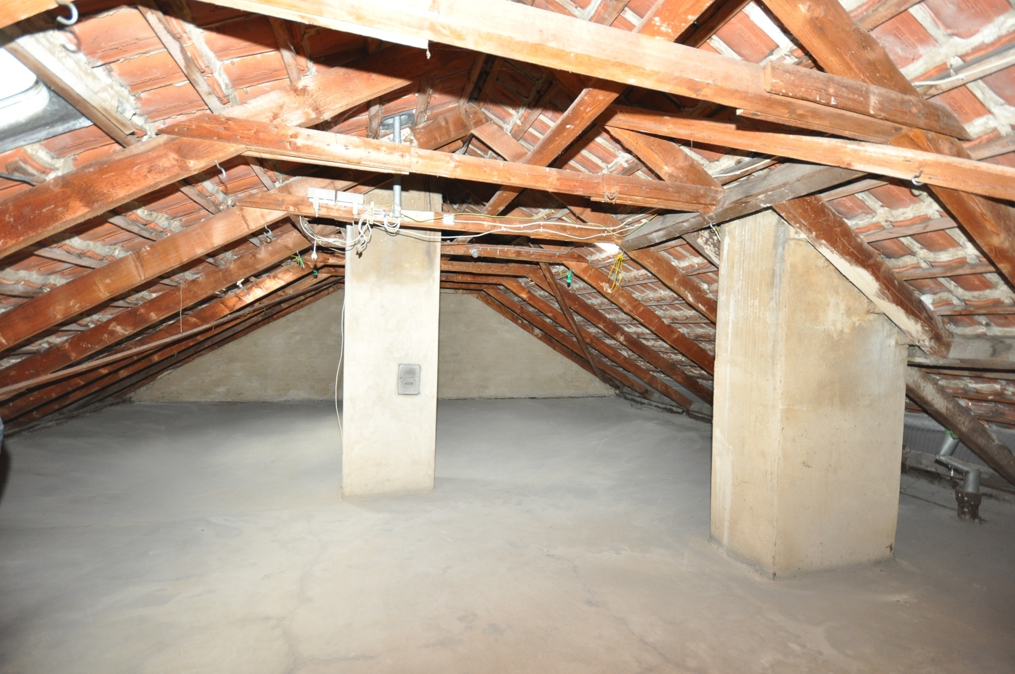 Dachgeschoss, unausgebaut
