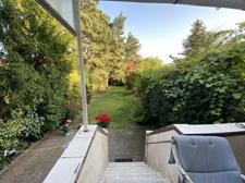 Terrassenblick zum Garten