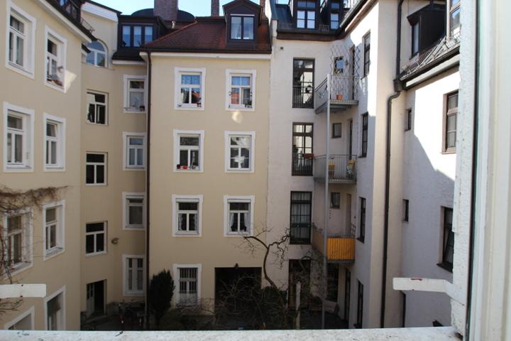 Schwabinger Hinterhof