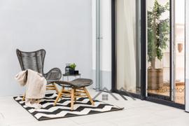 2 Terrassen 30 m2 + 70 m2