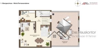 Maisonette 1.OG + 70 m2 Terrasse