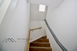 Treppe innerhalb der Maisonette