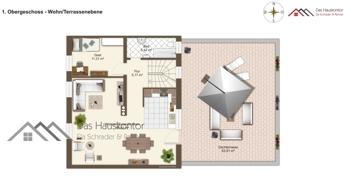 Maisonette Wohnung - Terrassenebene - 1.OG