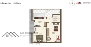 Maisonette Wohnung - private Ebene - DG