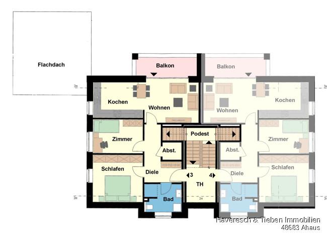 Dachgeschoss Whg 3
