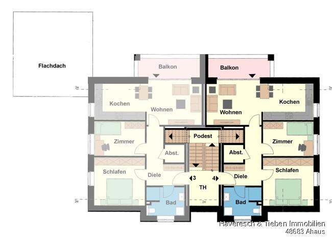 Dachgeschoss Whg 4