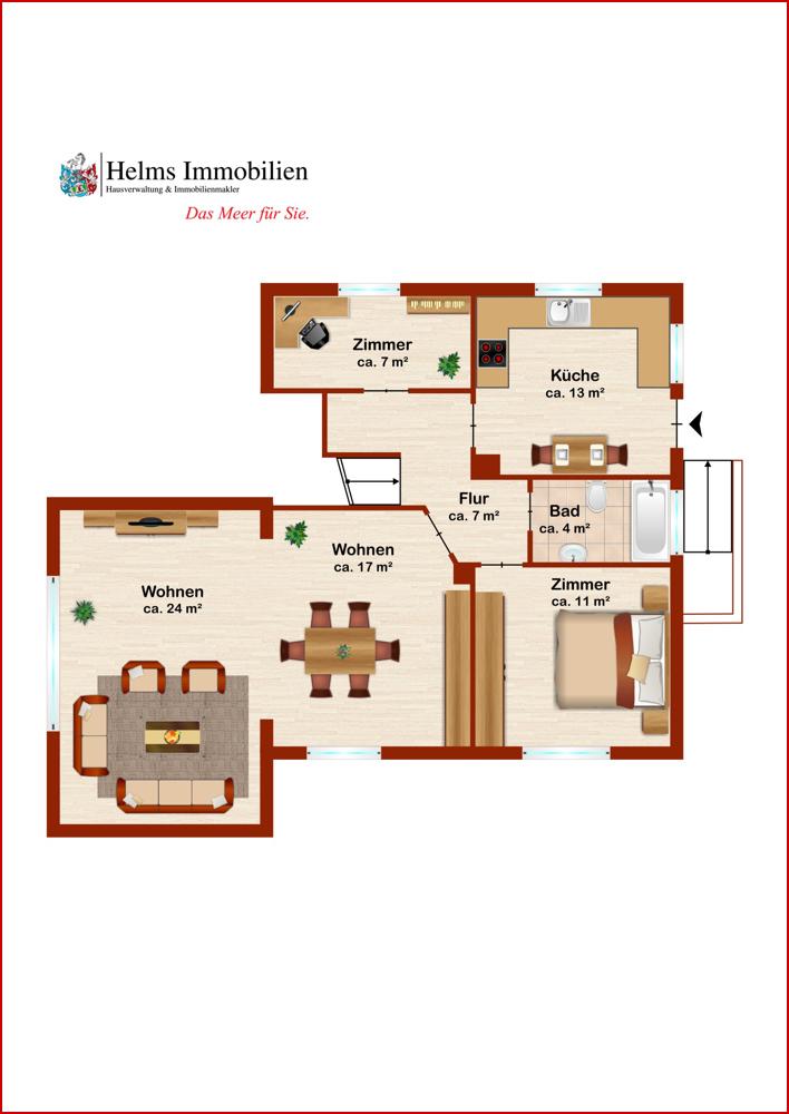 Wohnung 1 EG
