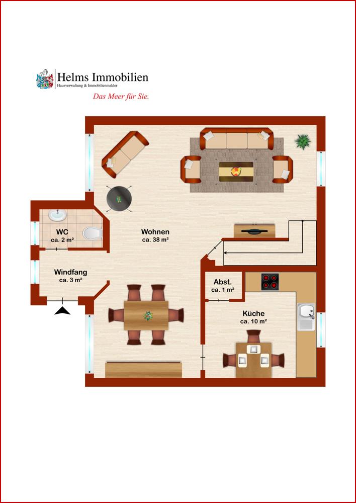 Wohnung 3 EG