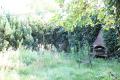 Garten mit Kamingrill