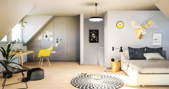 Schlafzimmer DG Beispiel