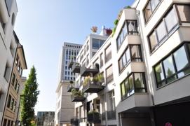 Gebäude -und Straßemimpression