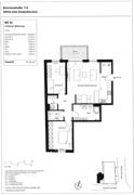 Grundriß Wohnung Nr. 26 (3.OG)