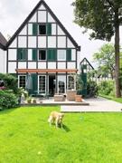 Hausansicht Gartenseite (Dogs are welcome)