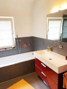 Badezimmer 1 im Obergeschoß