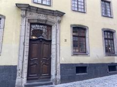 Ansicht Haus und Eingang