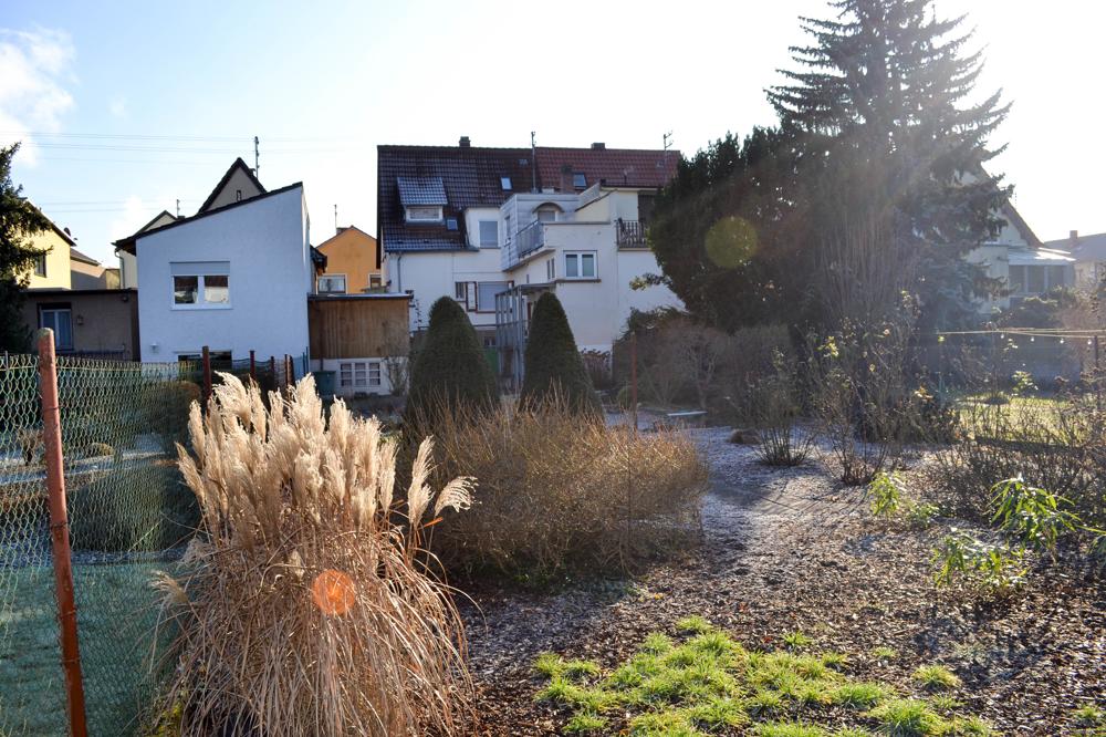 Groszügiger Garten