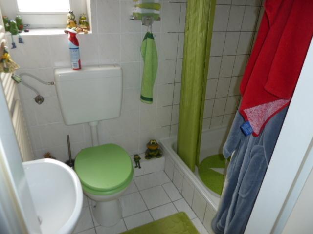 Dusche/WC im DG