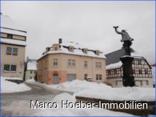 Ansicht mit Falknerbrunnen