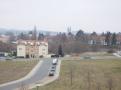 Blick vom Balkon zum Dom
