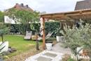 Terrasse und Garten Fachwerk