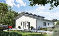 Musterhaus Kern-Haus Bungalow VitaPult Eingangsseite