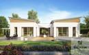 Kern-Haus Bungalow Fokus Gartenseite Muster