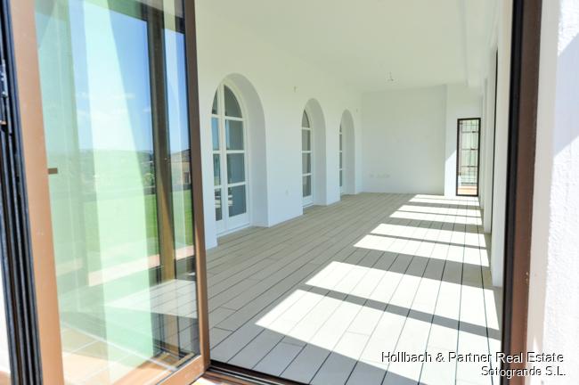 Terraza acristalada