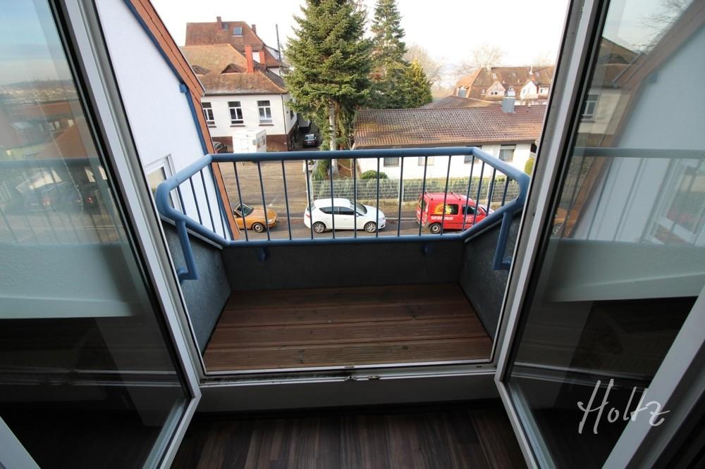 Franzözischer Balkon