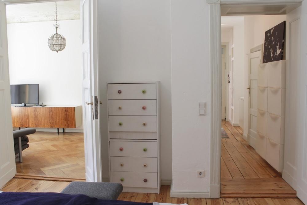 Buchholzer-Flur-Schlafzimmer