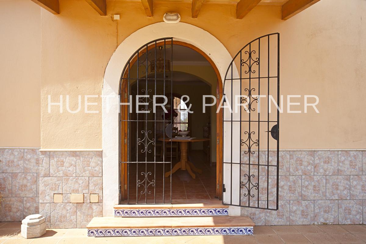 Haus-Eingangstür