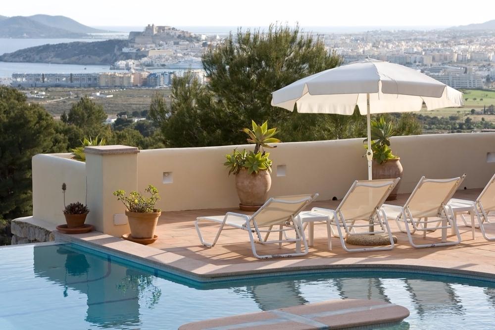 Terrasse mit Panorama