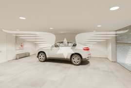 Visualisierte Garage