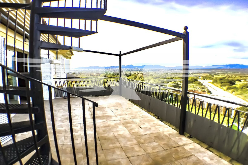 Terrasse Wohnebene