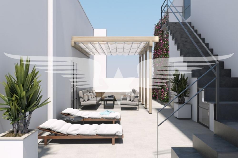 Gemeinschafts-Dachterrasse