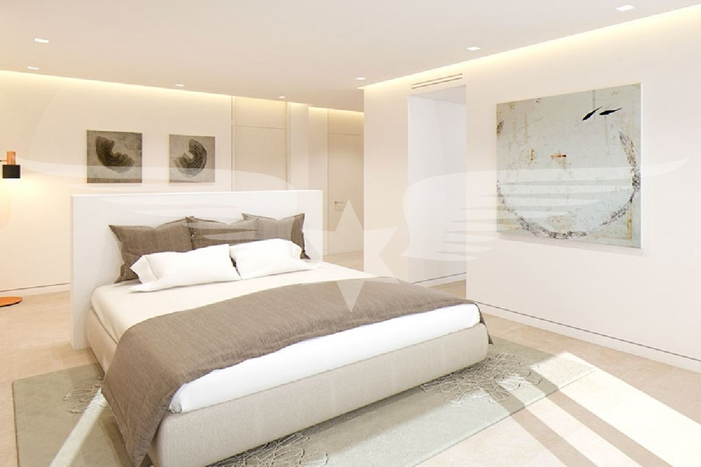 Visualisierter Master-Bedroom