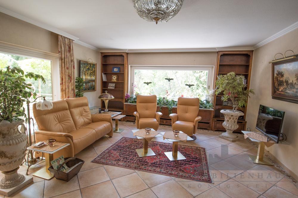 Wohnung 1: Wohnzimmer