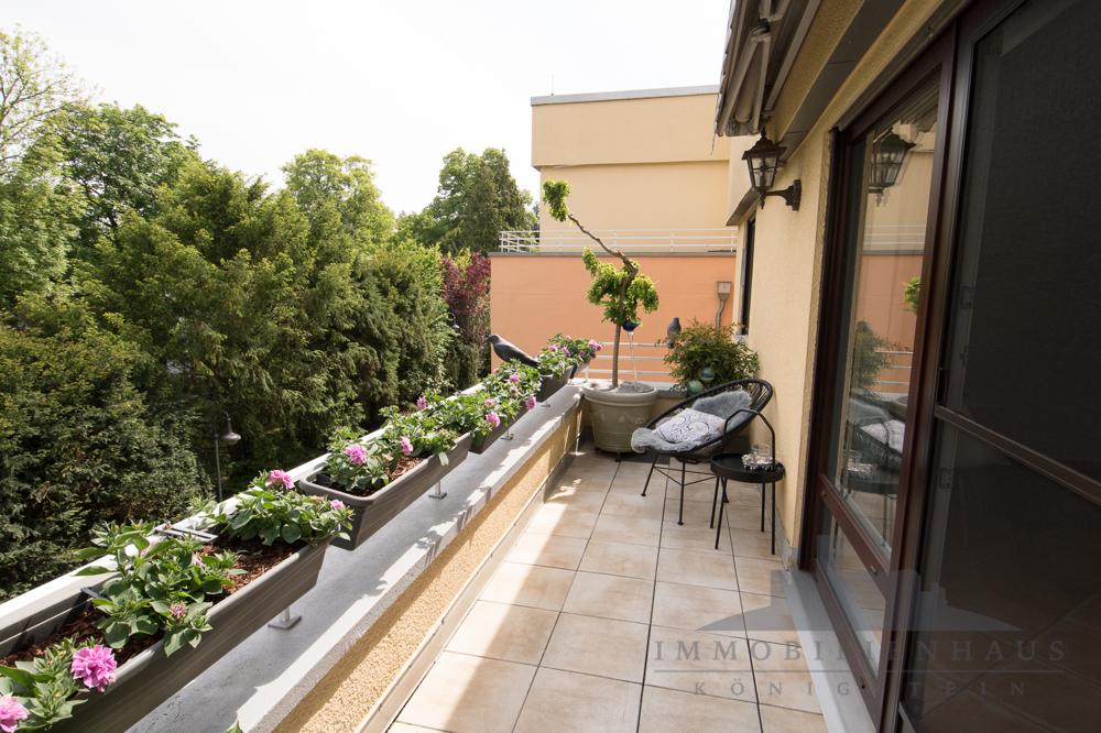 Wohnung 2: Terrasse