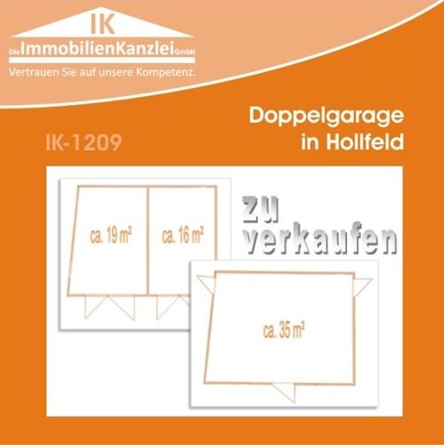 Doppelgarage in Hollfeld