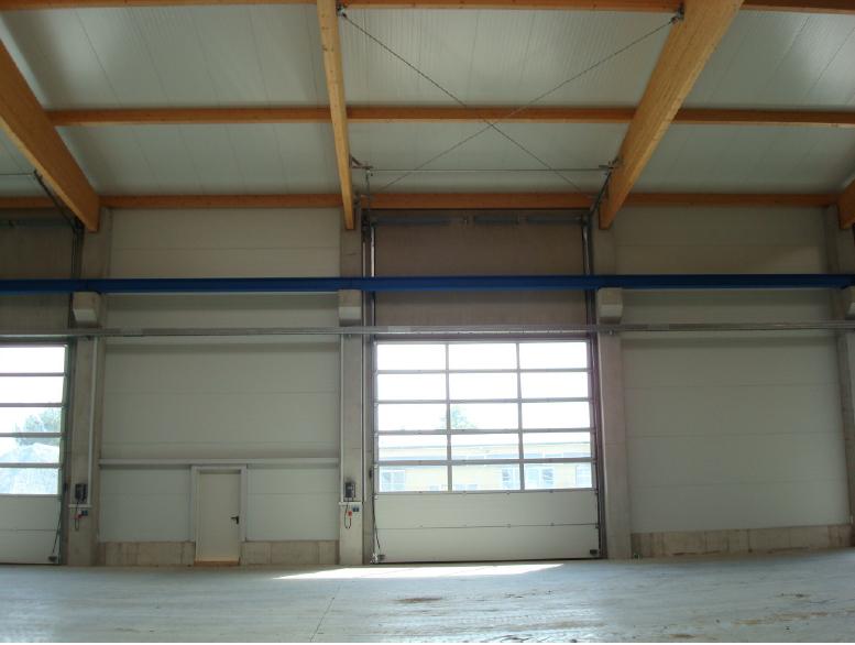 Industriehalle Innen