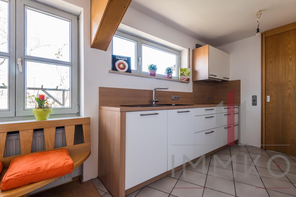 Küche mit Weitblick