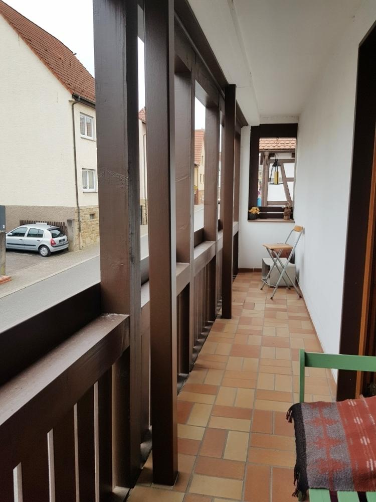 Haus 1 Balkon
