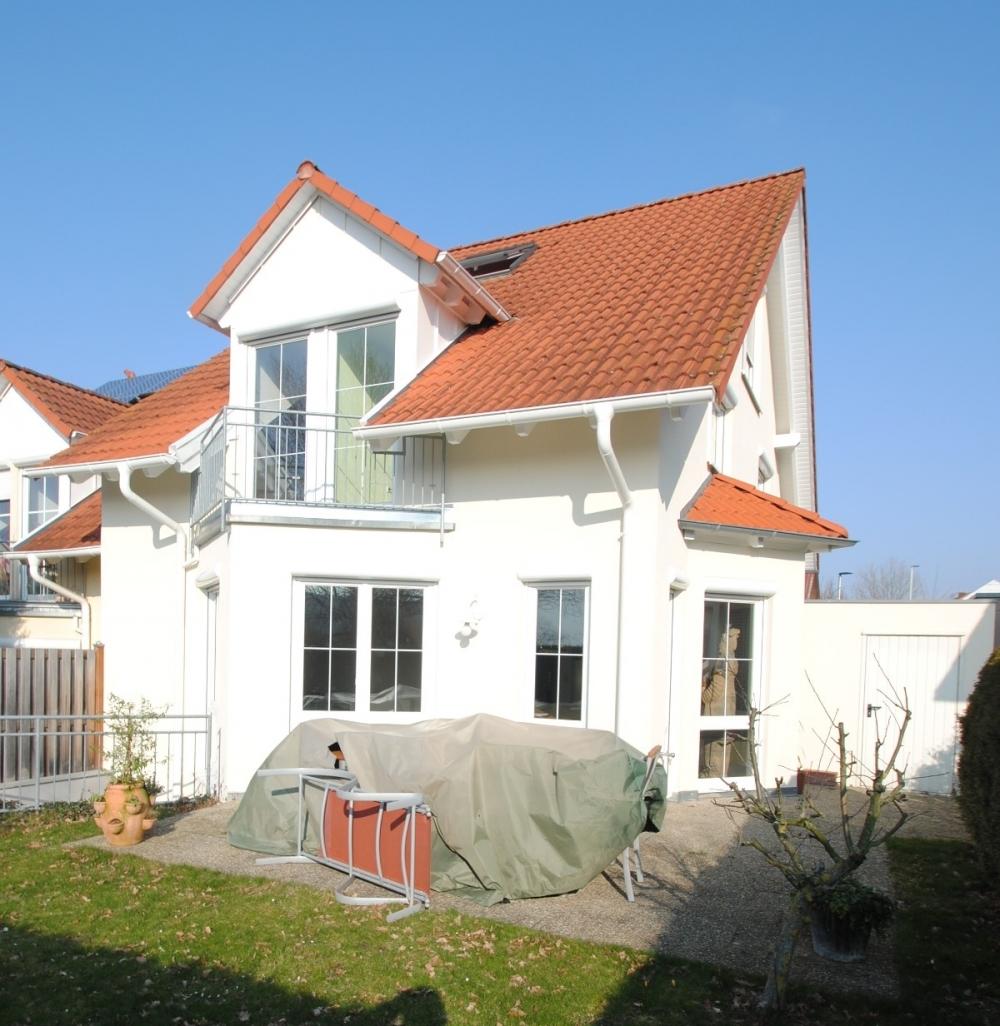 Haus Rückseite - Terrasse