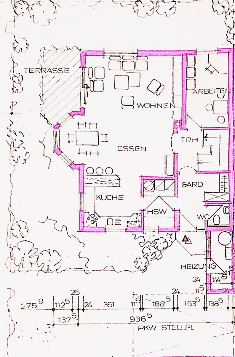 Plan EG Haus